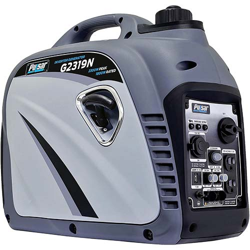 7. Pulsar G2319N 2,300W Portable Gas-Powered Quiet Inverter Generator