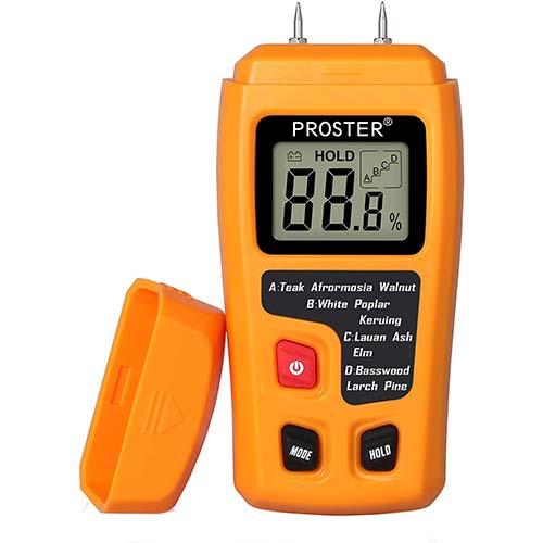 5. Proster Handheld Wood Moisture Test Meter