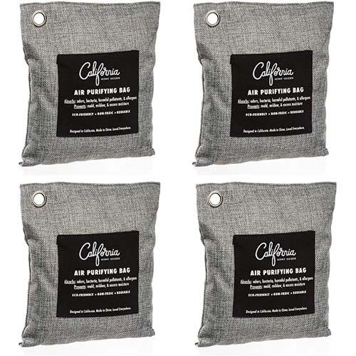 3. Bamboo Charcoal Air Purifying Bag
