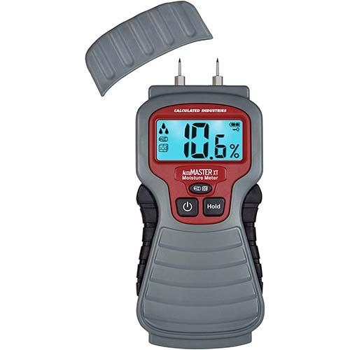 4. Calculated Industries 7440 AccuMASTER XT Digital Moisture Meter