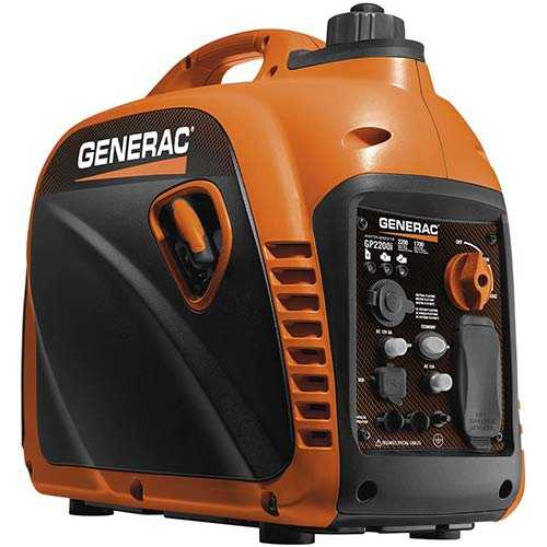 10. Generac 7117 GP2200i 2200 Watt Portable Inverter Generator