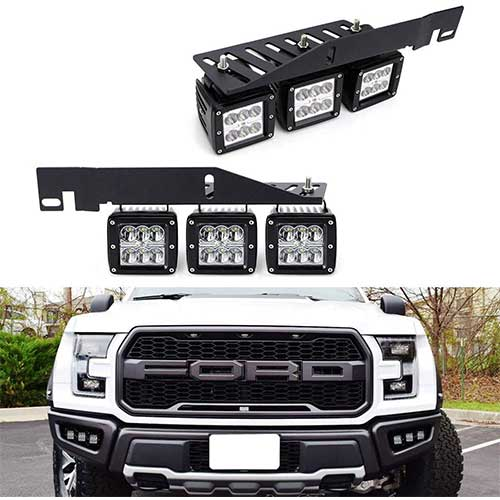 Top 10 Best Ford Raptors F150 Fog Light Kits in 2020 Reviews