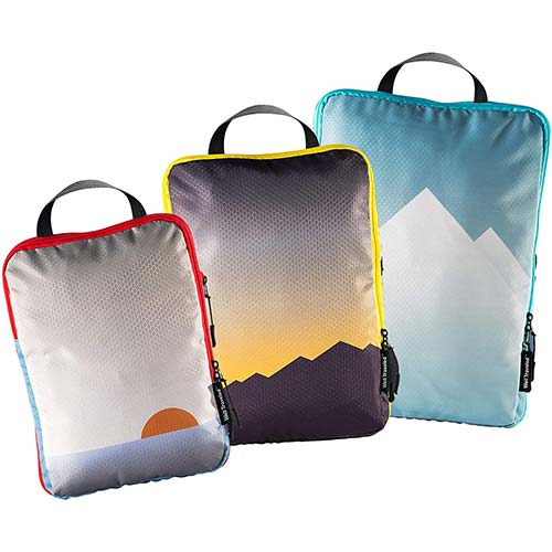 8. Well Traveled - 3pc Compression Packing Cubes for Travel - Luggage Organizer, Suitcase Organizer & Backpack Organizer