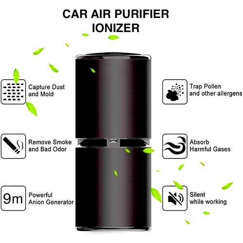 2. Thinkga Car Ionizer Air Purifier