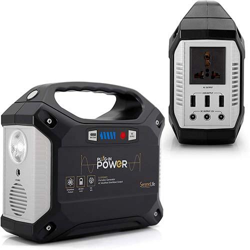 8. SereneLife Portable Generator