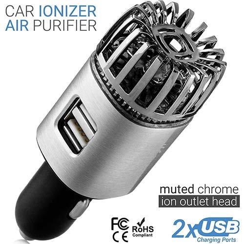5. TwinkleBirds Car Air Purifier Ionizer