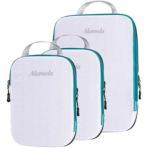 7. Packing Cube Set 3pcs for Travel, Compression Bags Organizer