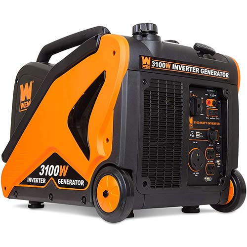 5. WEN 56310i-RV Super Quiet 3100-Watt RV-Ready Portable Inverter