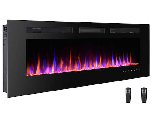 3. 3GpLUS 60 Inches Electric Fireplace