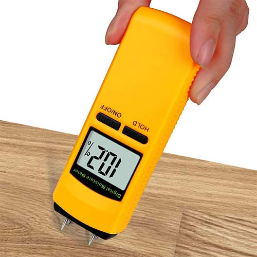 8. Terme Wood Moisture Meter, Terme Digital Portable Wood Water Moisture Tester