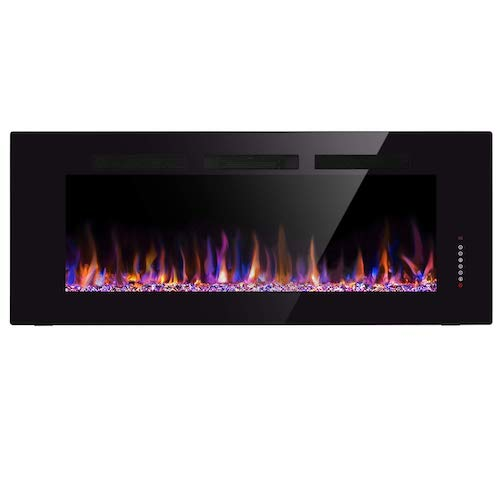 7. Xbeauty 60'' High Electric Fireplace