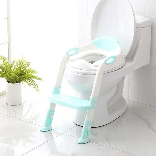 1. 711TEK Potty Training Seat Toddler Toilet Seat