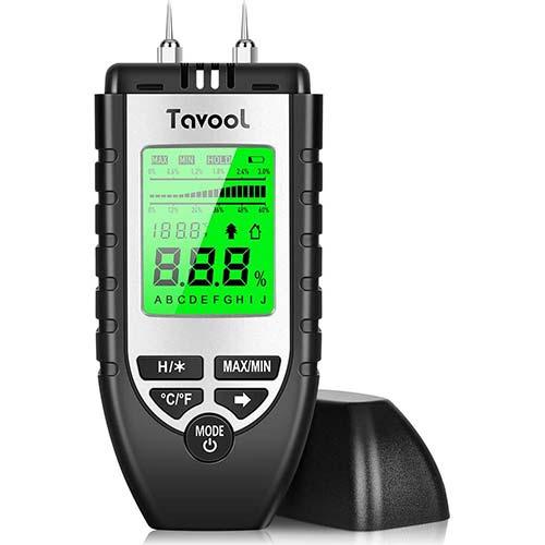 2. Tavool Wood Moisture Meter