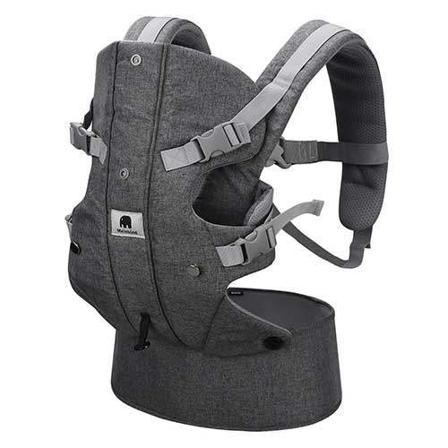 8. Baby Carrier, Meinkind 2-in-1 Convertible Carrier Ergonomic Breathable Soft Carrier