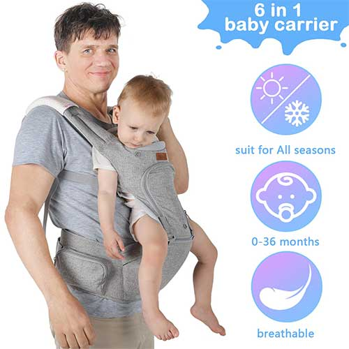 Top 10 Best Front Facing Baby Carriers in 2021 Reviews