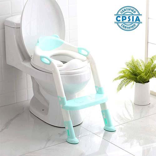 2. 711TEK Potty Training Seat Toddler Toilet Seat
