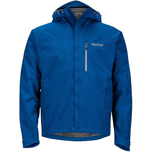 10. Marmot Men's Minimalist Lightweight Waterproof Rain Jacket, GORE-TEX