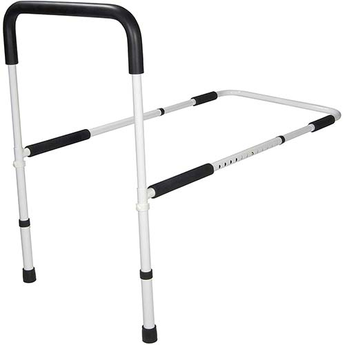 4. Drive Medical Adjustable Height Home Bed Assist Handle