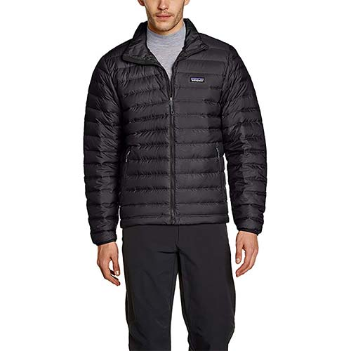 2. Patagonia Mens Down Sweater Jacket