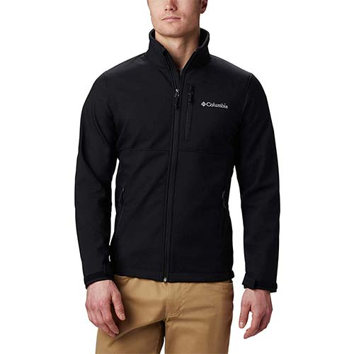 3. Columbia Men's Ascender Softshell Jacket, Water & Wind Resistant