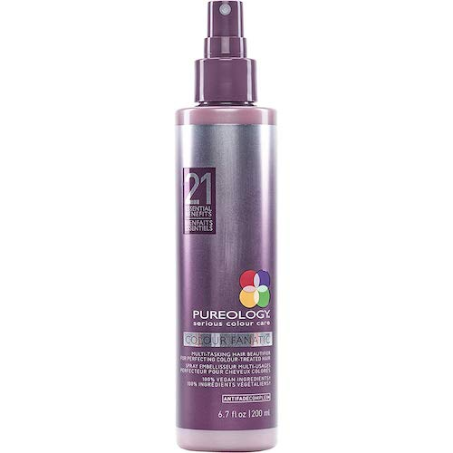 8. Pureology Colour Fanatic Hair Leave in Treatment Spray