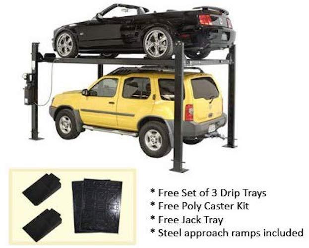 9. Auto Lift Car-Park-8 4 Post Parking Storage Car Lift 8,000 lb
