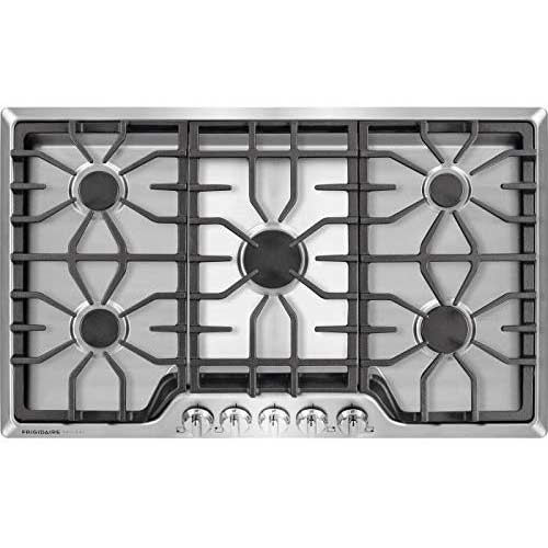 7. Frigidaire FGGC3645QS - Frigidaire Gallery 36 inch Gas Cooktop in Stainless Steel