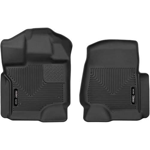 3. Husky Liners Fits 2015-19 Ford F-150 SuperCrew/SuperCab X-act Contour Front Floor Mats