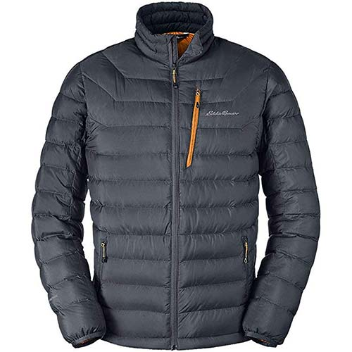 7. Eddie Bauer Men's Downlight Down Jacket