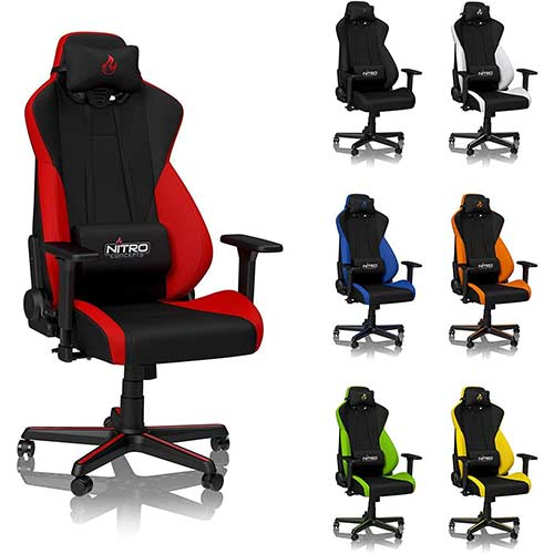 1. NITRO CONCEPTS S300 Gaming Chair