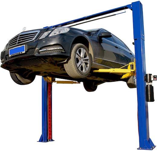 2. APlusLift HW-10KOH 10,000 LB Two Post Overhead Auto Hoist Clear Floor Car Lift