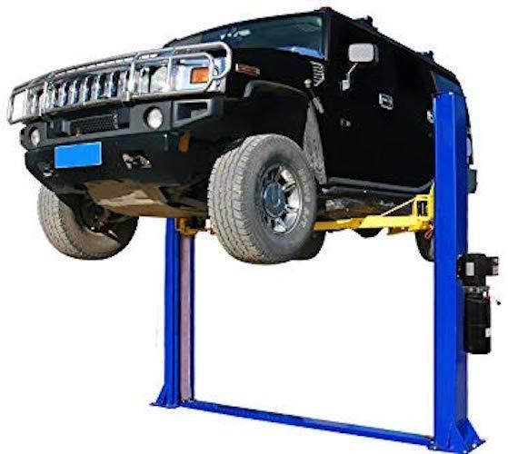 1. APlusLift HW-10KBP 10,000 LB Two Post Floor Plate Auto Hoist Car Lift