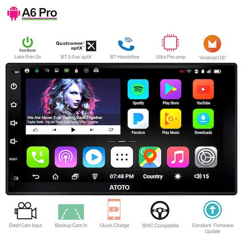 Top 10 Best Double Din Android Head Units In 2021 Reviews