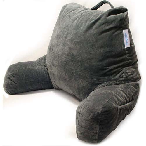 4. ComfortSpa Reading Pillow Bed Wedge Large Adult Backrest Lounge Cushion