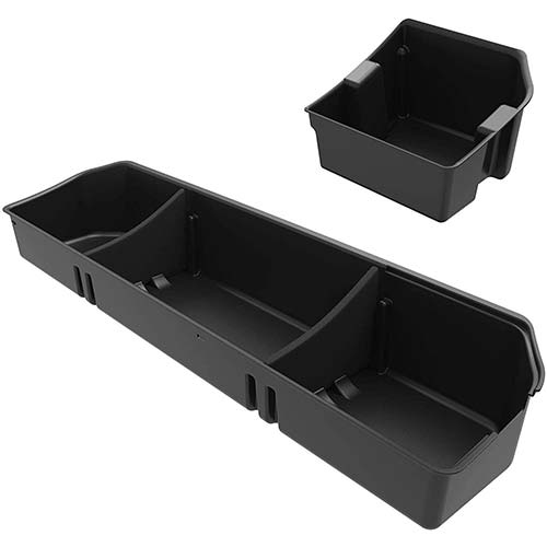 2. OEDRO Upgraded Under Seat Storage Box Compatible for 2015-2019 Ford F150 SuperCrew Cab & Crew Cab