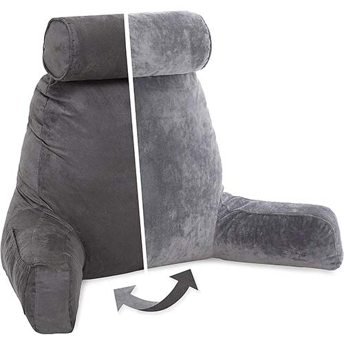 1. Husband Pillow, Aspen Edition - Reading and Bed Rest Pillow