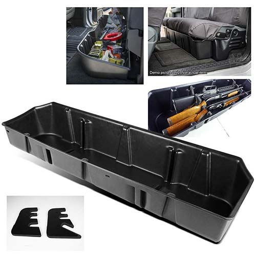 7. ModifyStreet Underseat Storage Case for 15-18 F150 Super Crew Cab/17-18 Ford F250/F350 Super Duty Crew Cab