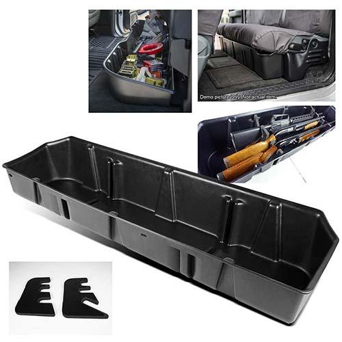 7. ModifyStreet Underseat Storage Case for 15-18 F150 Super Crew Cab/17-18 Ford F250/F350 Super Duty Crew Cab