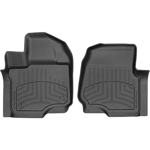 6. WeatherTech Custom 3D FloorMats for 2015-2019 Ford F-150-1st Row