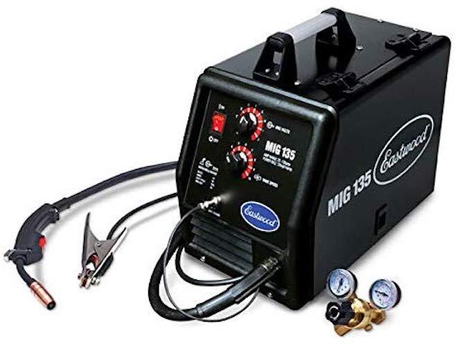 7. Eastwood MIG 135 Welder 12011 110VAC 135A Output Tweco Style Gun Flux Core Weld