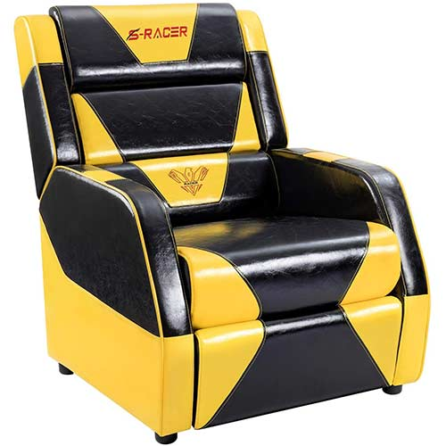 6. Homall Gaming Recliner Chair Living Room Sofa Single Computer Recliner PU Leather Recliner Seat
