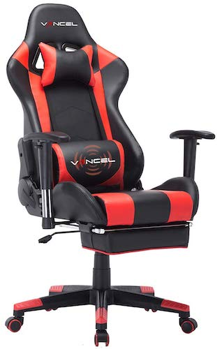 4. Gaming Chair Office Desk Chair High Back Computer Chair Ergonomic Adjustable Racing Chair Executive PC Chair