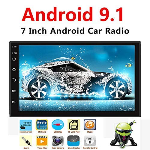 3. Binize Android 9.1 7 Inch HD Quad-Core 2 Din Car Stereo Radio Multimedia Player NO-DVD GPS Navigation in Dash AutoRadio Bluetooth/USB/WiFi (2G RAM+16G ROM)