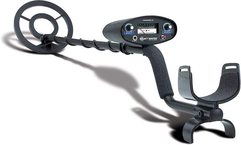 1. Bounty Hunter TK4 Tracker IV Metal Detector