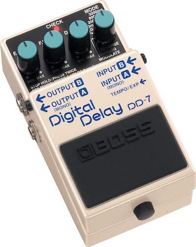 1. Boss DD-7 Digital Delay Pedal
