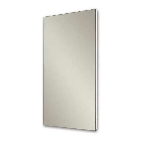 4. Jensen 1035P24WHG Cove Single-Door Recessed Mount Frameless Medicine Cabinet