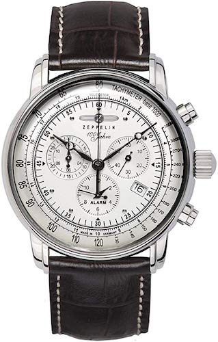 8. GRAF Zeppelin Chronograph and Alarm Watch