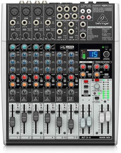 9. Behringer Xenyx X1204USB Digital Audio Mixer