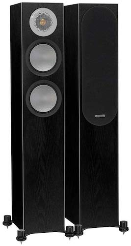 6. Monitor Audio - Silver RX-6 - 2 1/2 2-Way Floorstanding Speaker