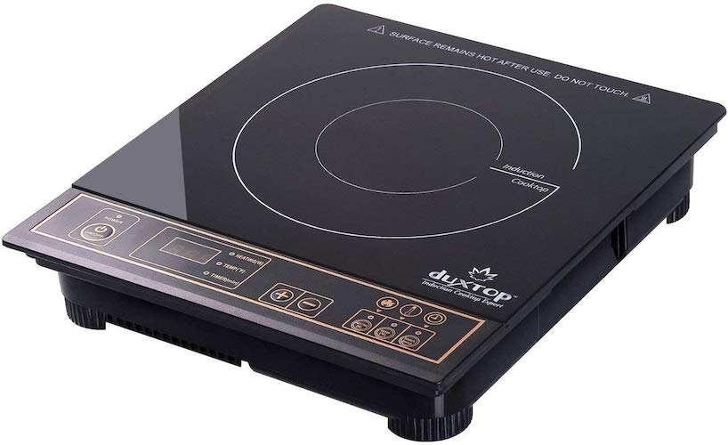 2. Duxtop 1800W Portable Induction Cooktop Countertop Burner